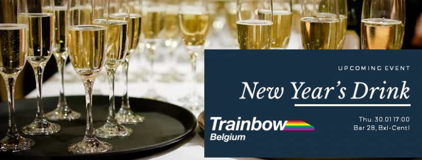 Trainbow New Years Drink