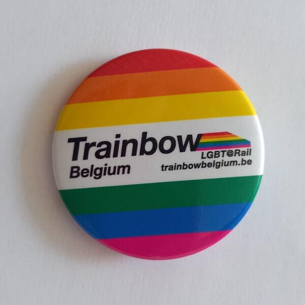 Trainbow pin